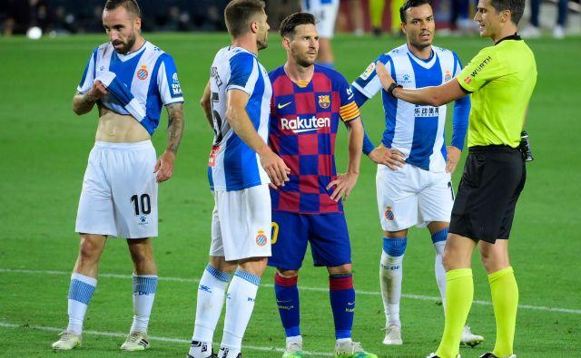 Espanyol nima več možnosti za obstanek. FOTO:Lluis Gene/AFP
