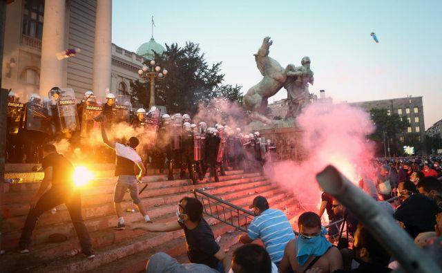 Prizori z beograjskih ulic. FOTO: Oliver Bunić/Afp