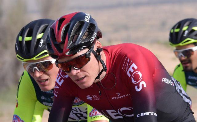 Chris Froome zapušča ekipo, s katero je osvojil vse tri največje tritedenske dirke. FOTO: Giuseppe Cacace/AFP