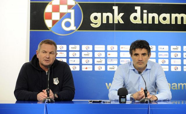 Matjaž Kek (levo) uživa na Hrvaškem sloves vrhunskega strokovnjaka, ob Kvarnerju celo status legende, morda bo na klopi Dinama nasledil prav Zorana Mamića (desno). FOTO: Damir Krajac/Cropix
