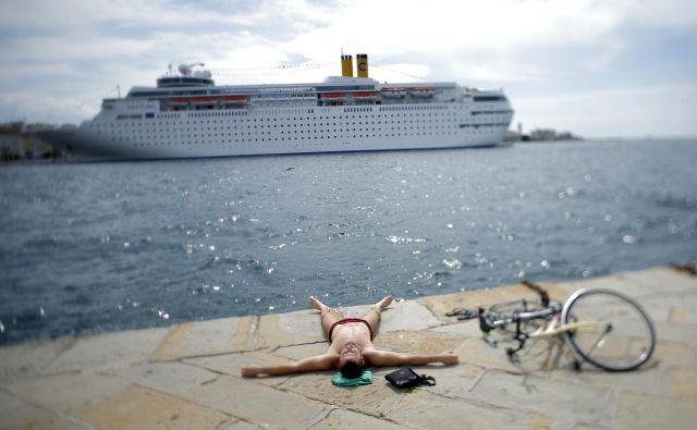 Najbolj slikoviti pri opisovanju, kakšni gostje so Slovenci, so Hrvati, ki imajo z njimi največ izkušenj. FOTO: Uroš Hočevar/Delo