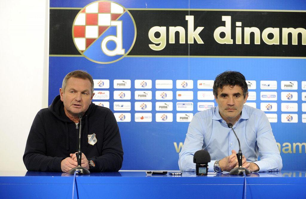 FOTO:Matjaž Kek trenutno bližje Zagrebu kot Brdu pri Kranju