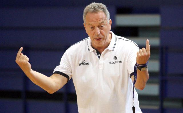 Ljubljančane je popeljal v tedanjo sezono evrolige trener Zmago Sagadin. FOTO: Roman Šipić