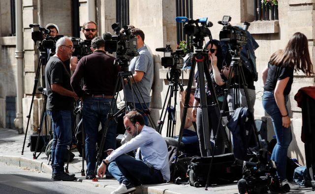 Do kratkega roka javne razprave o medijski zakonodaji so izrazito kritični v koaliciji, kjer so bili pred prejemom predloga, le na grobo seznanjeni z zakoni. FOTO: Thomas Coex/Afp