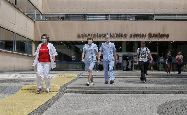 Klinični center Ljubljana 16.06.2020 [UKC Ljubljana,zdravstvo,motivi] Foto Blaz Samec