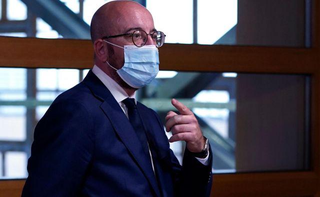 Michelov kompromisni predlog predvideva rahlo znižanje večletnega finančnega okvirja. FOTO: Kenzo Tribouillard/AFP