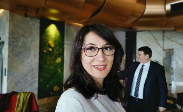 Aferdita Ademi - Osmani: Zdravstvo Kosova je podobno kot v večini držav v tranziciji - premalo je kadra, opreme in denarja.FOTO: Milena Zupanič/Delo