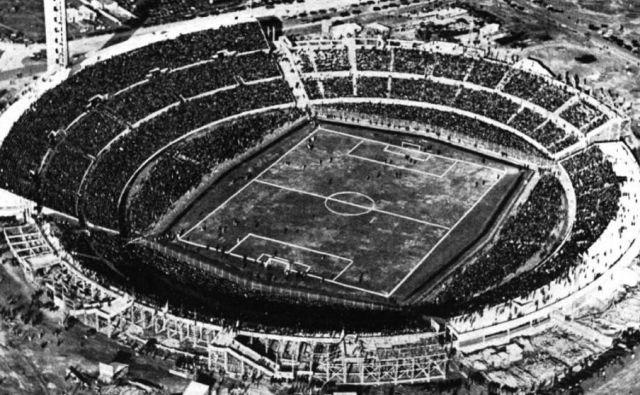 Legendarni štadion Centenario v urugvajski metropoli Montevideo je 30. julija 1930 prizorišče finala med Urugvajem in Argentino (4:2). FOTO: Wikipedia