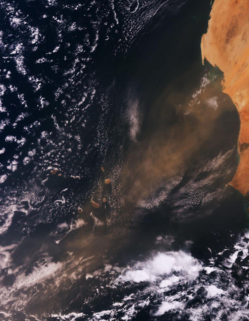 Nad ZDA letos odneslo nenavadno veliko količino saharskega prahu