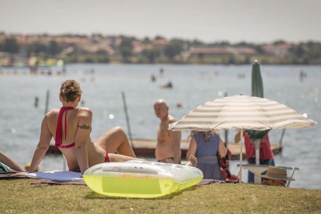 FOTO:Večina za dopust v Sloveniji