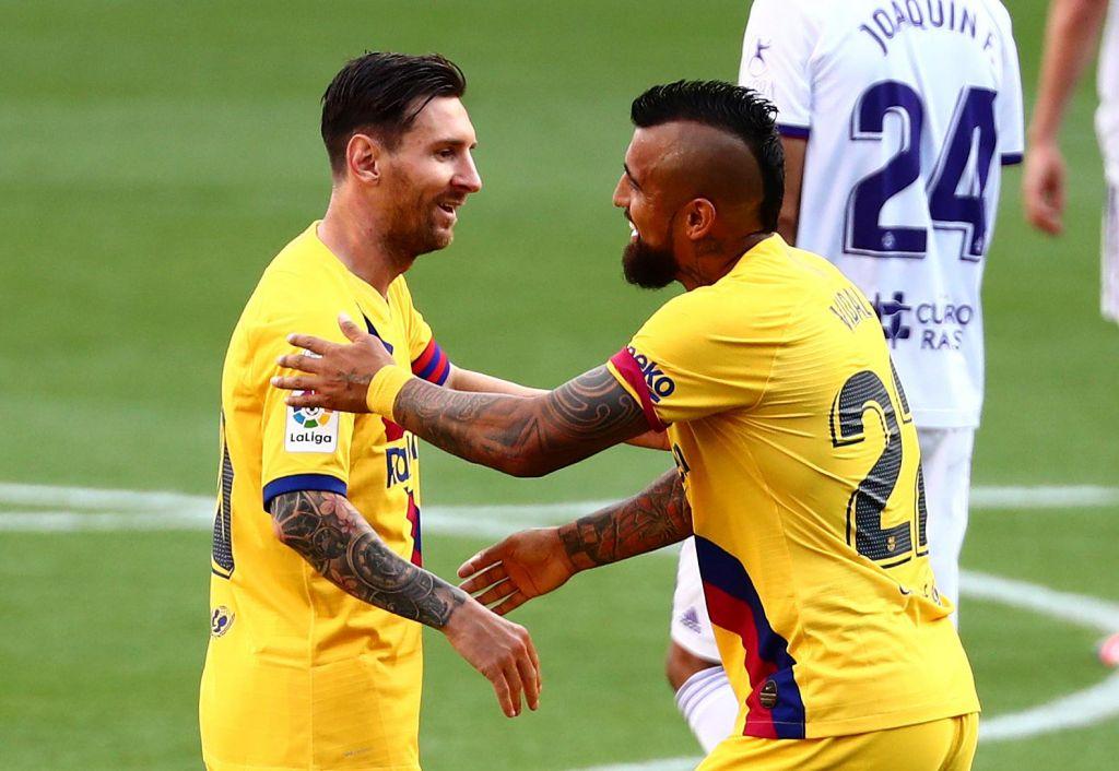 Messi ujel Xavija in Henryja, a kaj pomaga ...