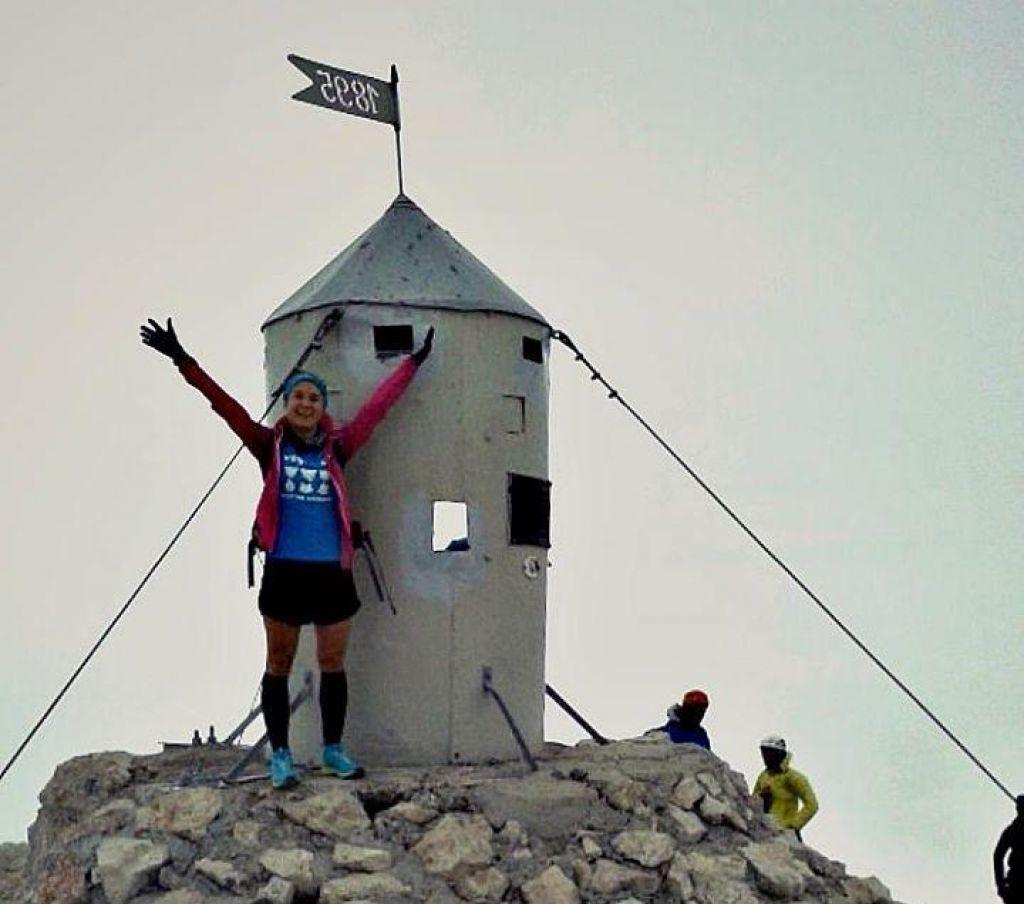 FOTO:Novi ženski rekord teka na Triglav