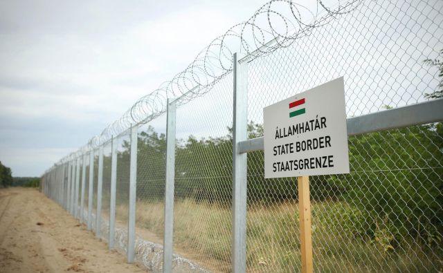 Madžarska na mejah uveljavlja še dodatne omejitve. FOTO: Jure Eržen/Delo