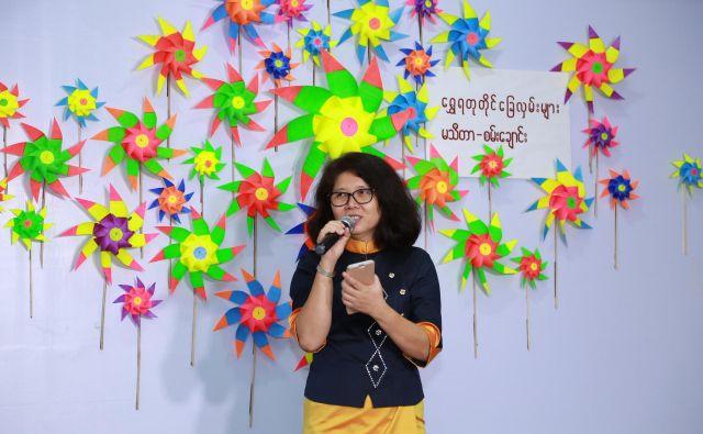 Burmanska kirurginja in pisateljica dr. Ma Thida je bila udeležena v političnem življenju Burme, pet let in pol je preživela v brutalnih razmerah burmanskega zapora, danes je zelo aktivna v mednarodnem Penu. FOTO: osebni arhiv