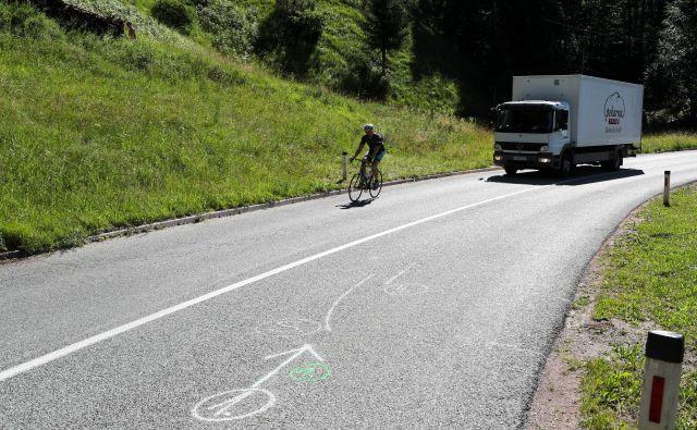 To poletje skorajda ni dneva, da ne bi poročali o poškodbah kolesarjev. FOTO: Marko Feist/Slovenske novice