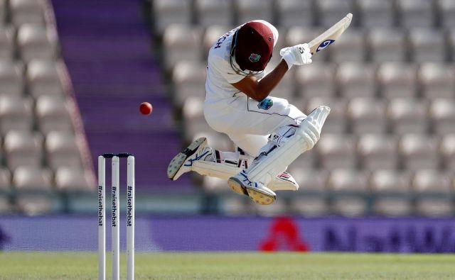 V Southamptonu sta se na prijateljski tekmi pomerili kriket reprezentanci Anglije in West Indies. FOTO: Adrian Dennis/Afp<br /> <br />