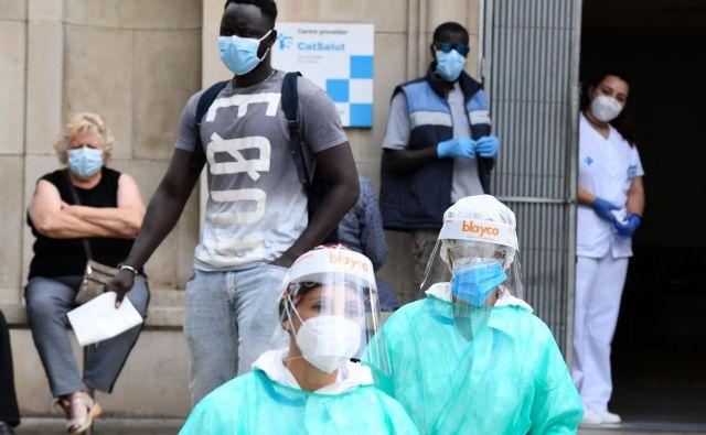 V Kataloniji novi karonavirus ni pod nadzorom.<br /> Foto: Pau Barrena/Afp