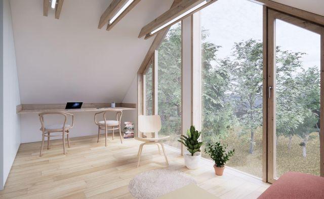 Družinski dom v počitniški hišici Foto arhitekturni biro Celovito