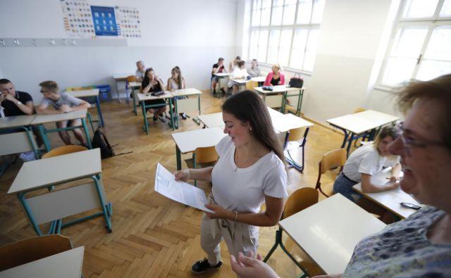 Visokošolski zavodi bodo kandidate o rezultatih prvega prijavnega roka obvestili najpozneje do 24. julija. FOTO: Matej Družnik/Delo