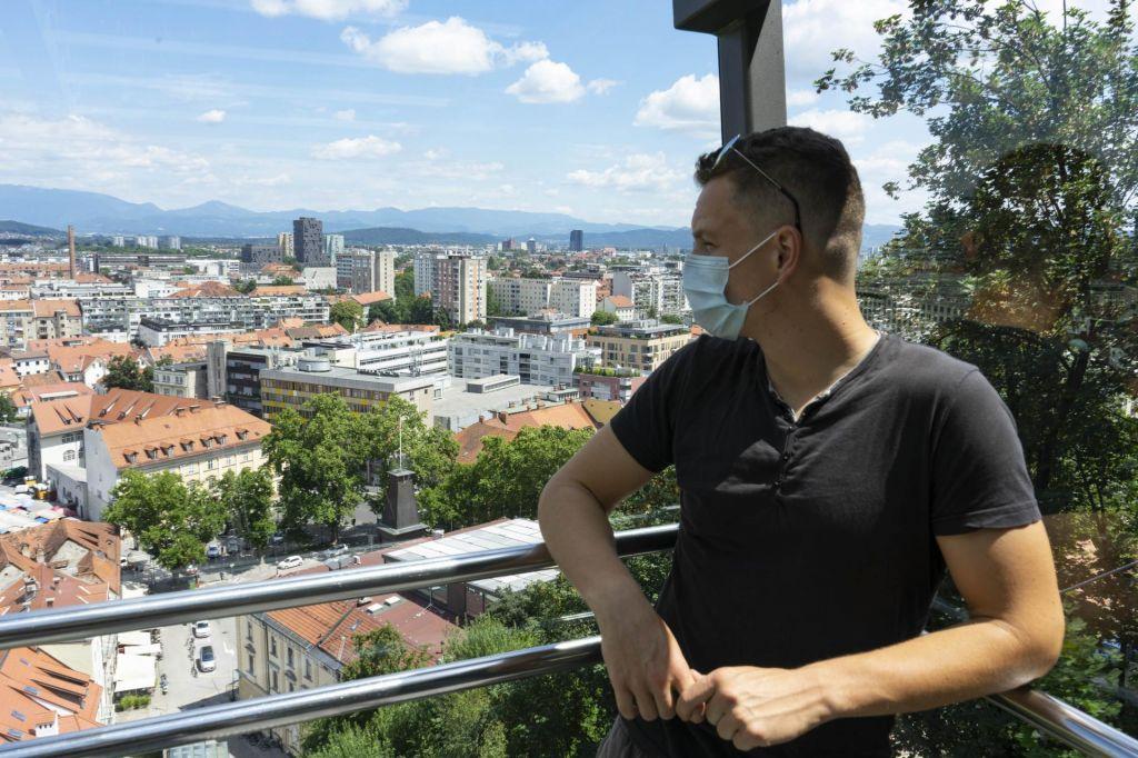 FOTO:Ljubljanski grad bodo spet prenavljali