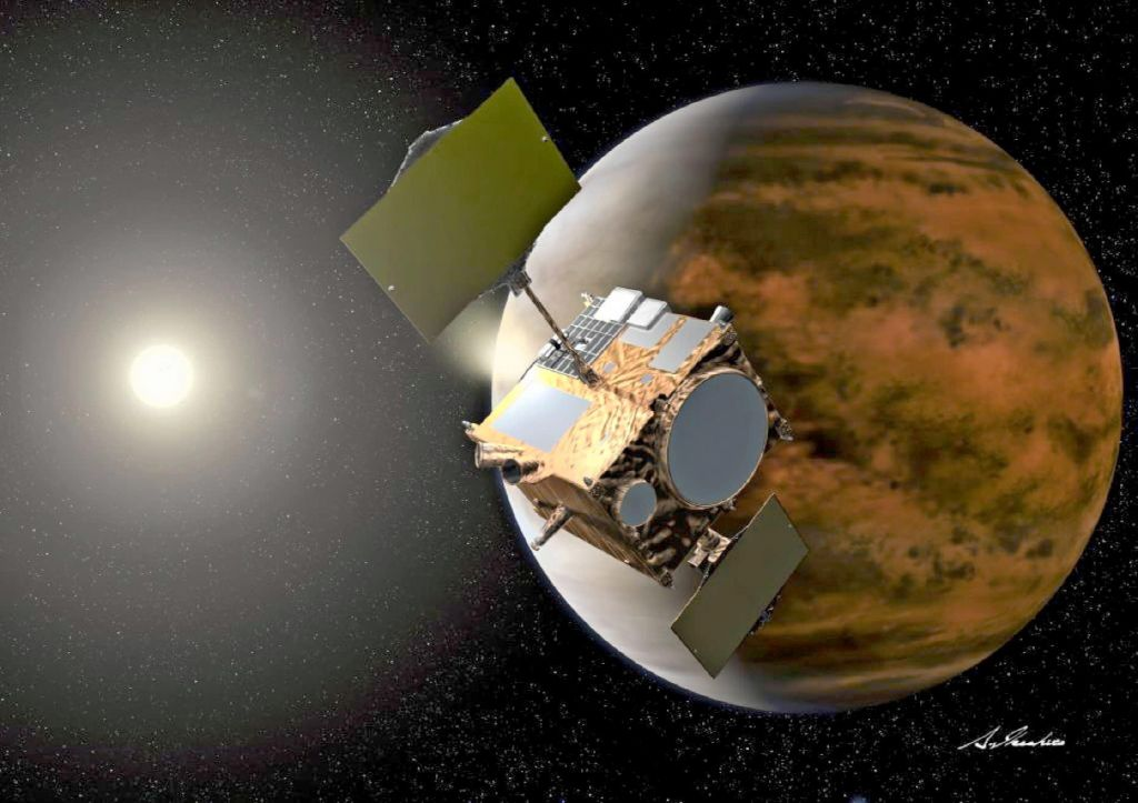 Sonda, ki je skoraj zgrešila Venero