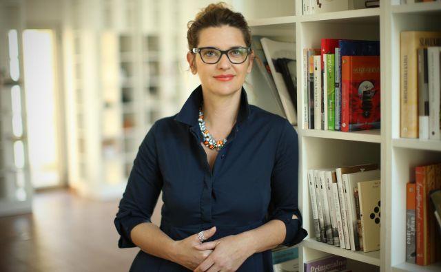 Renata Zamida, predsednica Javne agencije za knjigo. FOTO: Jure Eržen/Delo