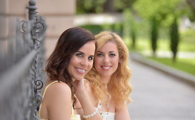 Ana Tavčar in Lorella Flego FOTO: Zen