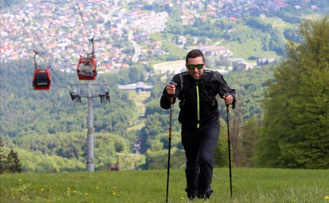 Peš na Pohorje, kjer si človek zbistri misli in nadiha čistega zraka. FOTO: Tadej Regent
