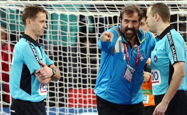 Veselin Vujović je znan kot mož, ki ne izbira beseda, ko ga kaj vrže iz tira. FOTO: Reuters