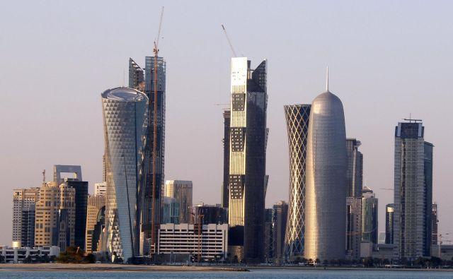 Katarska metropola Doha bo osrednje prizorišče svetovnega prvenstva v nogometu 2022. FOTO: Jacky Naegelen/Reuters