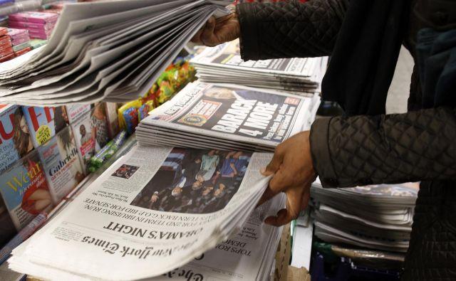 Bari Weiss New York Timesu očita, da se ne zaveda pomena svobodne izmenjave idej za demokratično družbo. FOTO: Chip East/Reuters