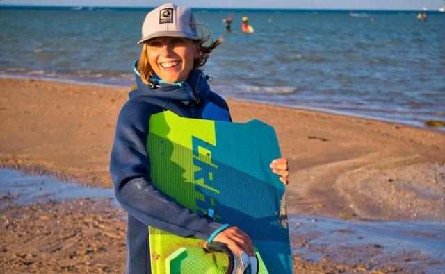 Lana Bauman, inštruktorica kajtanja Foto Osebni Arhiv
