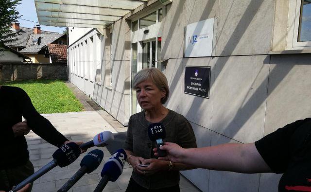 Dr. Maja Grgič Vitek je epidemiologinja Centra za nalezljive bolezni na NIJZ. FOTO: Brigite Ferlič Žgajnar/Delo