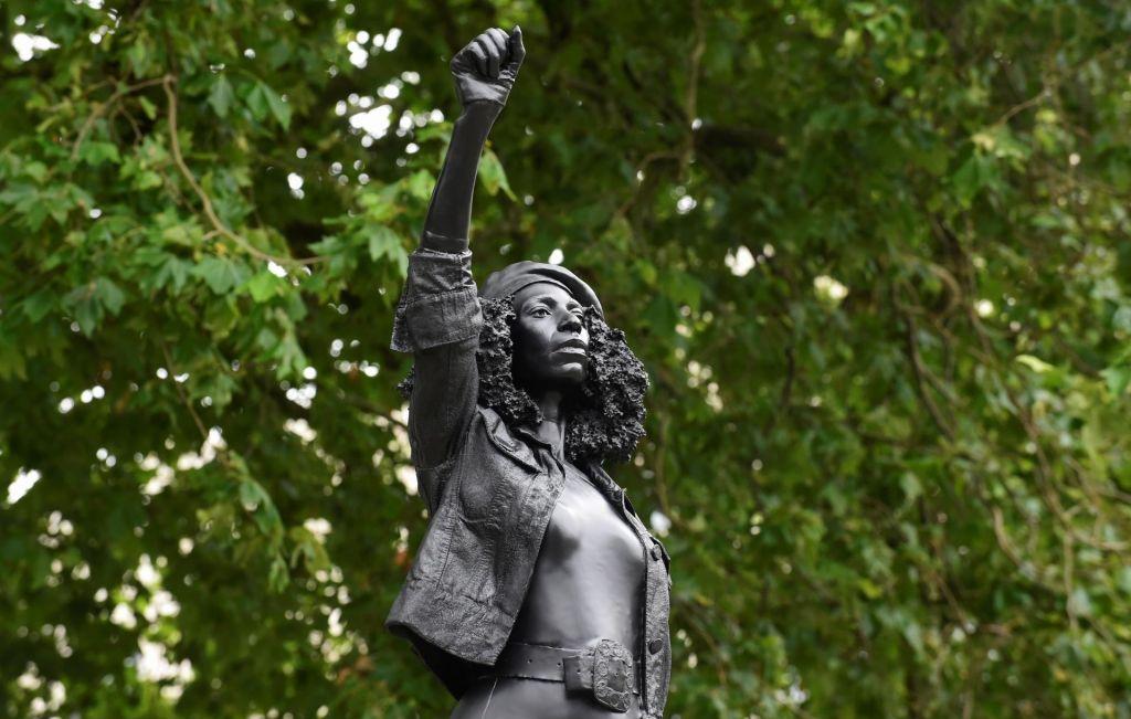 FOTO:Spomenik za protestnico