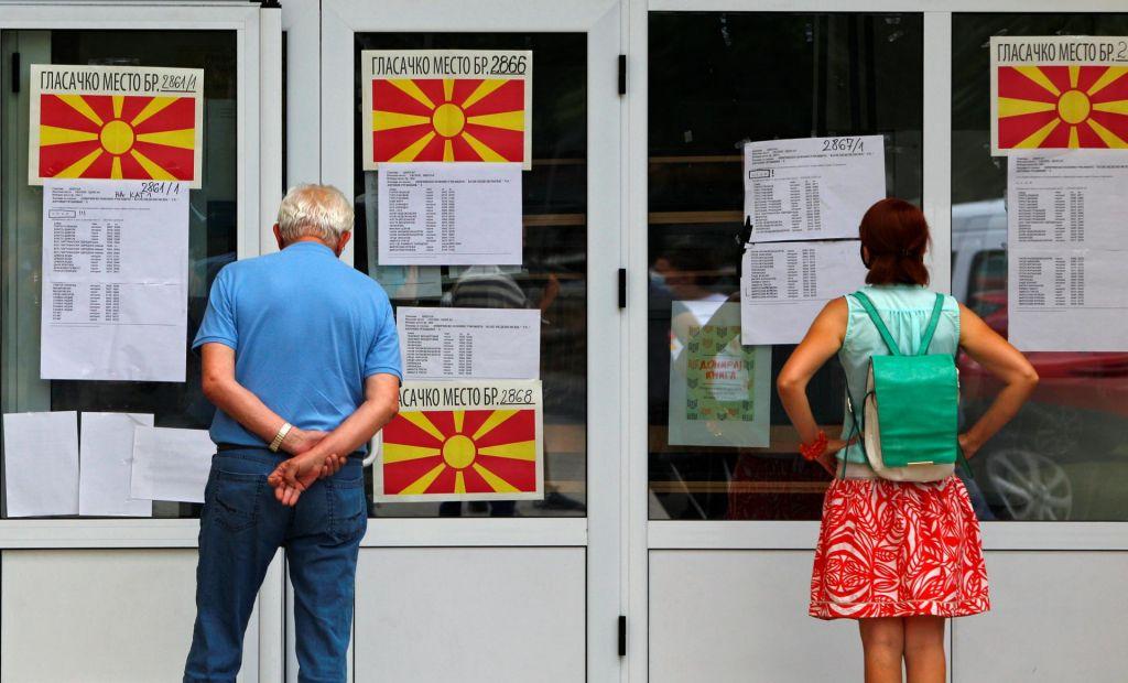 V Severni Makedoniji zaprli volišča
