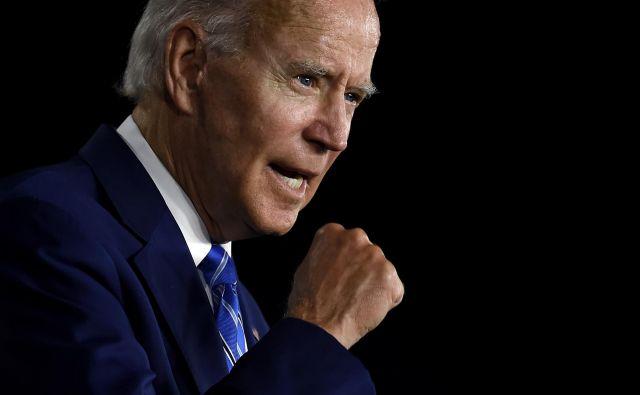Demokratski predsedniški kandidat Joe Biden. FOTO:Olivier Douliery/AFP
