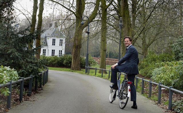 Nizozemski premier Mark Rutte bo na tokratnem vrhu voditelj s tretjim najdaljšim stažem. Foto: Evert-jan Daniels/Afp