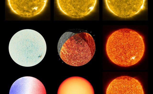 Sonce, posneto z instrumentoma EUI in PHI. Posnetki so nastali 18. in 30. maja. FOTO: Solar Orbiter/EUI Team; PHI Team/ESA & NASA