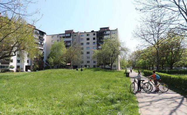 Med zahtevami v pozivu za nakup stanovanj za starejše sta bližina zelenih območij in sprehajalnih poti ter mirna lokacija oziroma spalno naselje. Foto Dejan Javornik