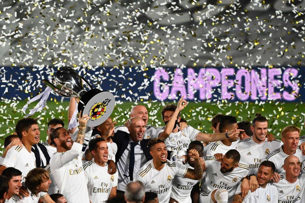 FOTO:Real Madrid je španski prvak