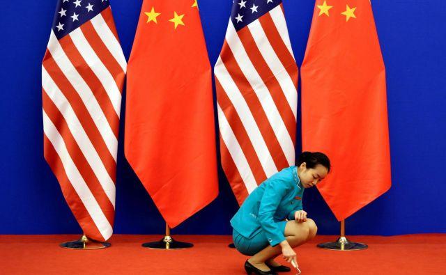 Odnosi med ZDA in Kitajsko postajajo vedno bolj nepredvidljivi. Foto Jason Lee/Reuters