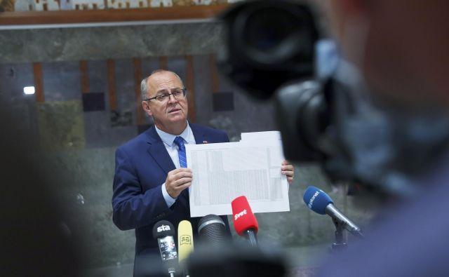 Jožef Horvat si lahko oddahne, saj policija ni nezakonito brskala po njegovih osebnih evidencah. FOTO: Jože Suhadolnik/Delo