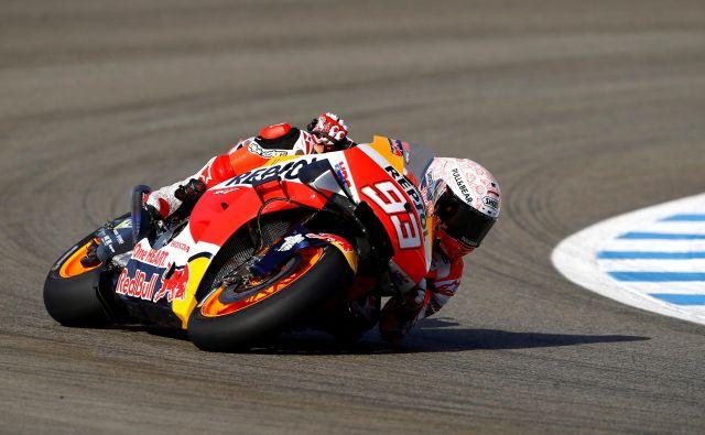 Marc Marquez dirka osmemu naslovu naproti. FOTO: Marcelo Del Pozo/Reuters