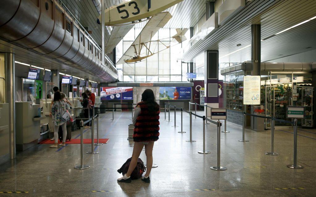 FOTO:Jutro na brniškem letališču: Ko pristaneta vsega skupaj le dve letali