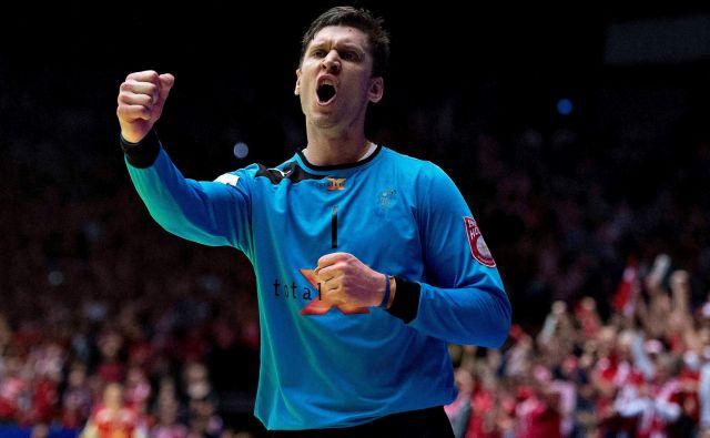 Niklas Landin Jacobsen je prvič osvojil prestižno rokometno priznanje. FOTO: Reuters