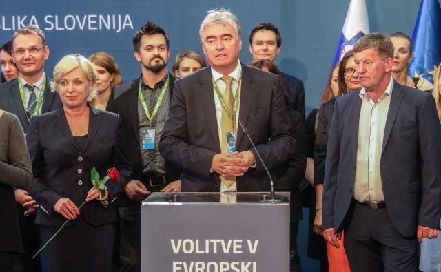Evropski poslanec EPP/SDS Milan Zver je stopil v bran novemu predlogu medijske zakonodaje. Foto: Voranc Vogel/Delo