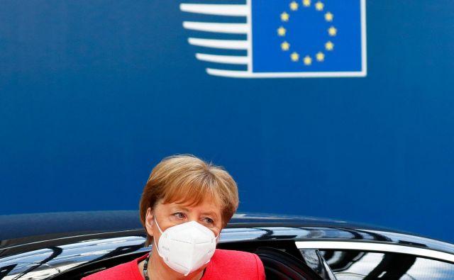 Nemška kanclerka Angela Merkel je najpomembnejša odločevalka na bruseljskem odru. FOTO: Francois Lenoir/AFP