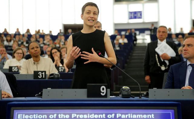 Franziska Maria Ska Keller, vodja zelenih v evropskem parlamentu FOTO: Vincent Kessler/Reuters