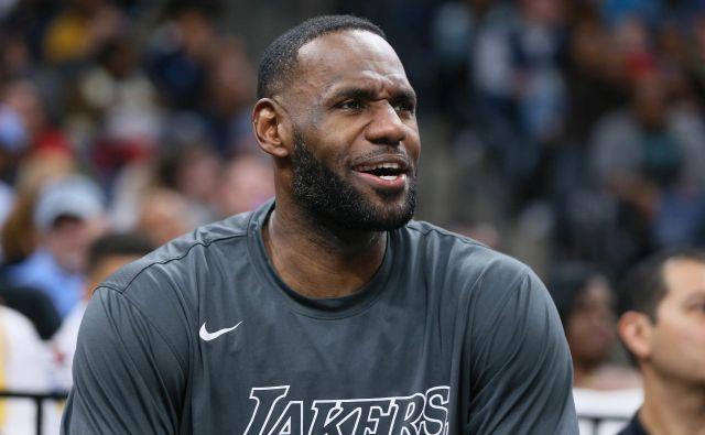 LeBron James je pogrešal mamo. FOTO: USA Today Sports