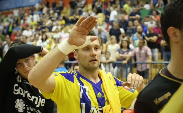Luka Žvižej je bil pred 10 leti po vrnitvi iz tujine med udarnimi aduti celjske rokometne ekipe. FOTO: Jure Eržen/Delo